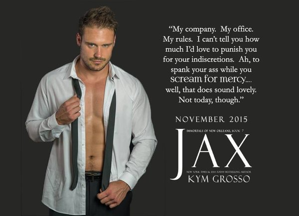 Blog Tour for Jax Immortals of New Orleans