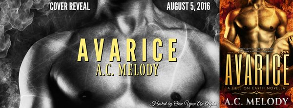 Cover Reveal for Avarice