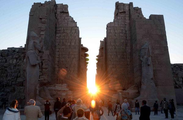 Return of the Christ Light Winter Solstice in Egypt