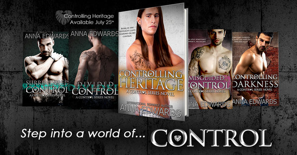 Blog Tour Controlling Heritage Anna Edwards