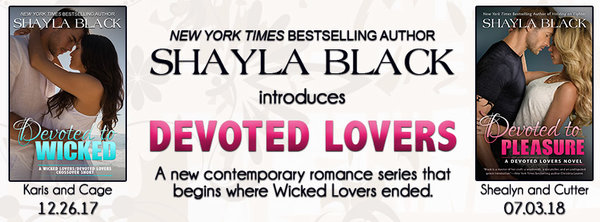 Devoted Lovers Shayla Black Announcement